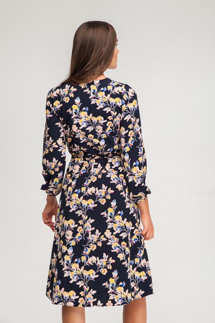 Платье миди на запах Freesia - THE LACE