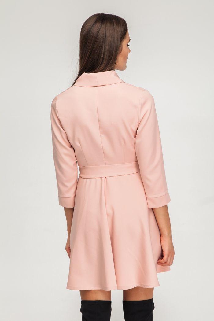 Платье мини на запах георгин - THE LACE