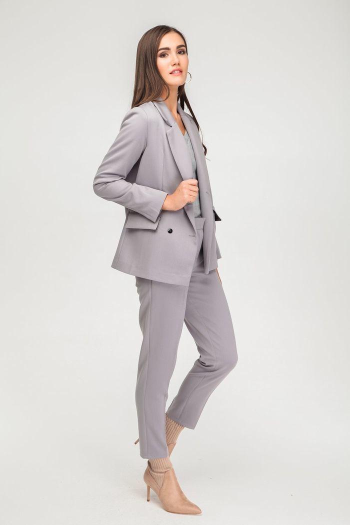 Брючный костюм серый - THE LACE
