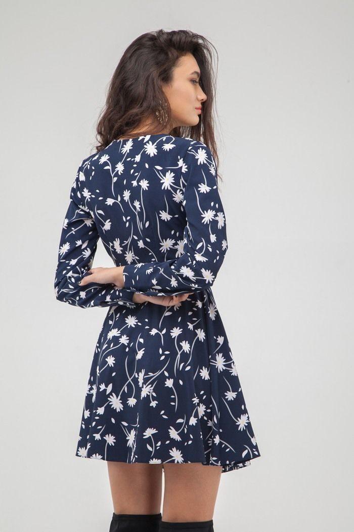 Платье мини на запах Camomile - THE LACE