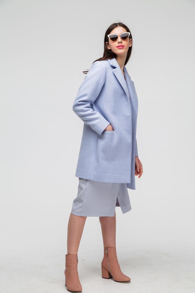 Пальто укороченное classic лавандовое - THE LACE