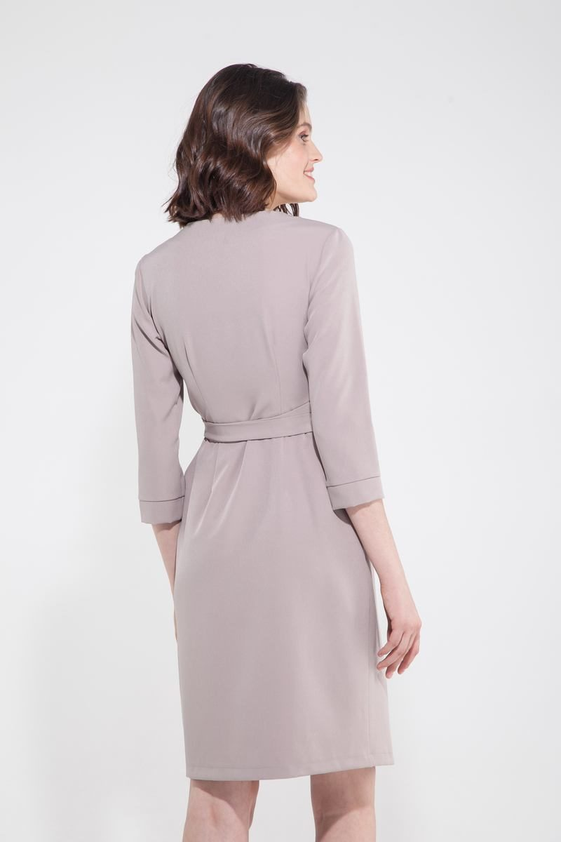 Платье миди на запах тирамису - THE LACE