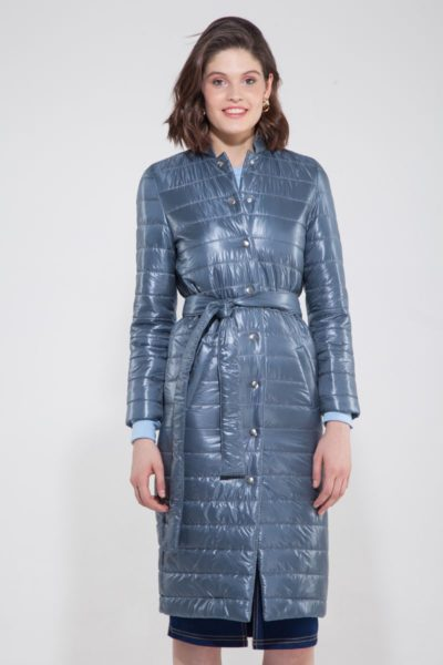 Пальто стёганое маренго - THE LACE