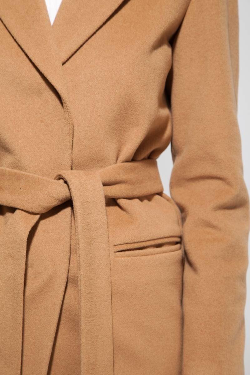 Пальто укороченное camel - THE LACE