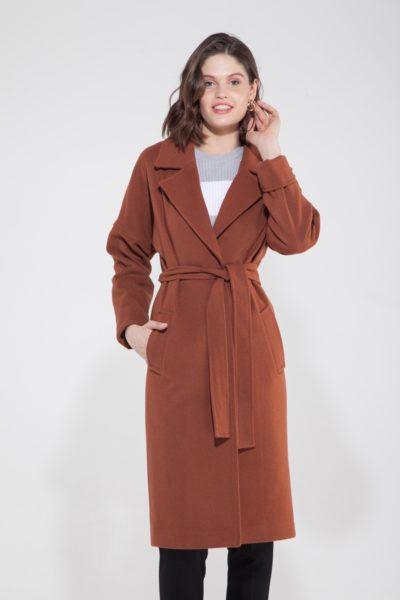 Пальто-халат медное - THE LACE