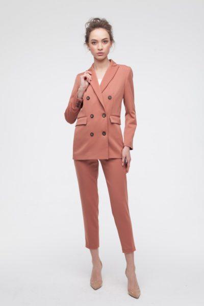 Брючный костюм карамельный - THE LACE