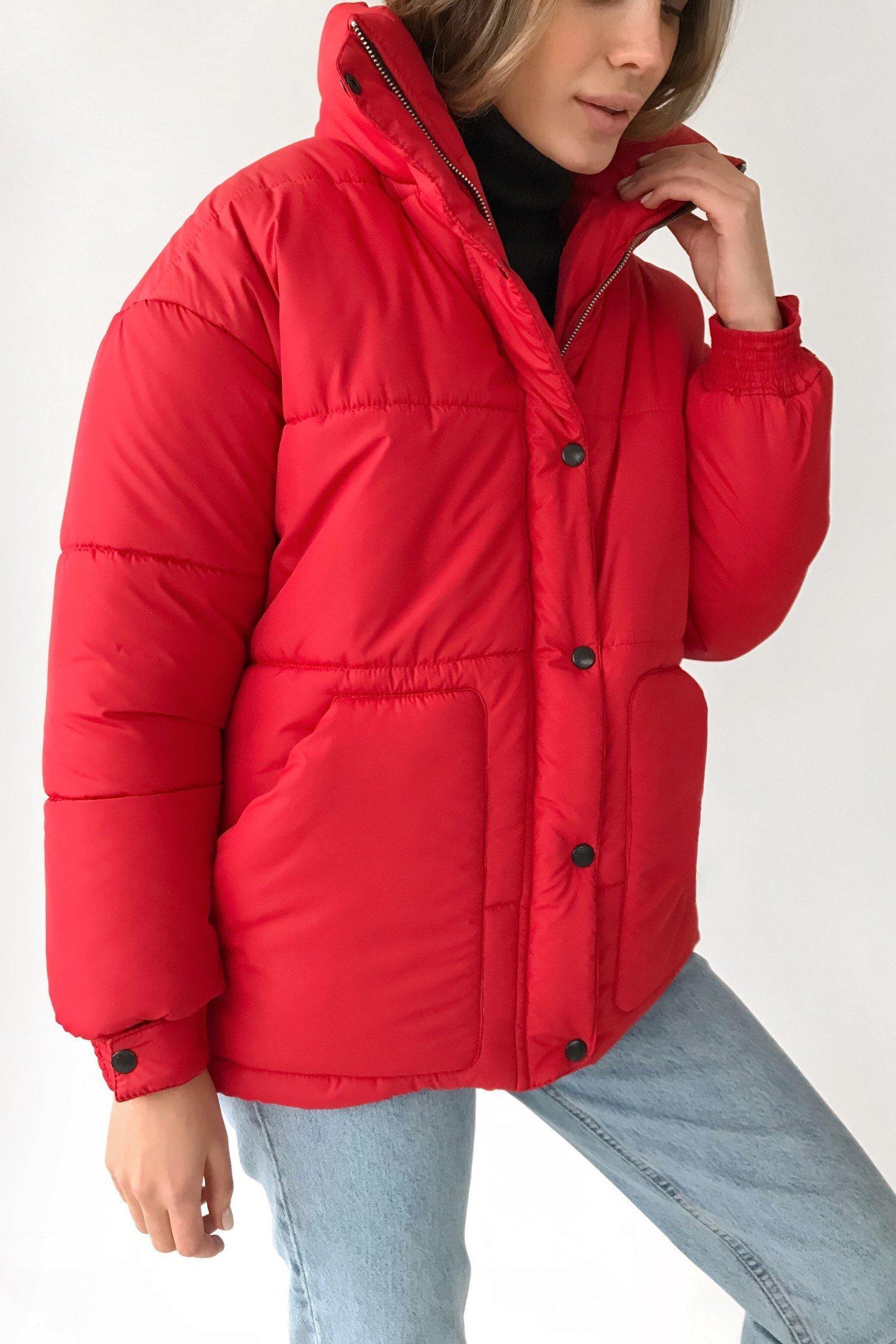Куртка оверсайз красная - THE LACE