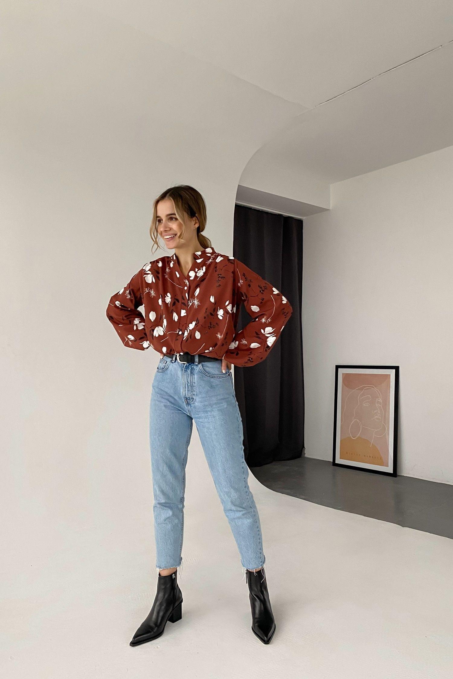 Блуза свободного кроя Magnolia - THE LACE