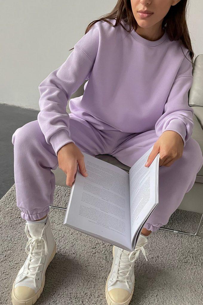 Свитшот oversize violet - THE LACE
