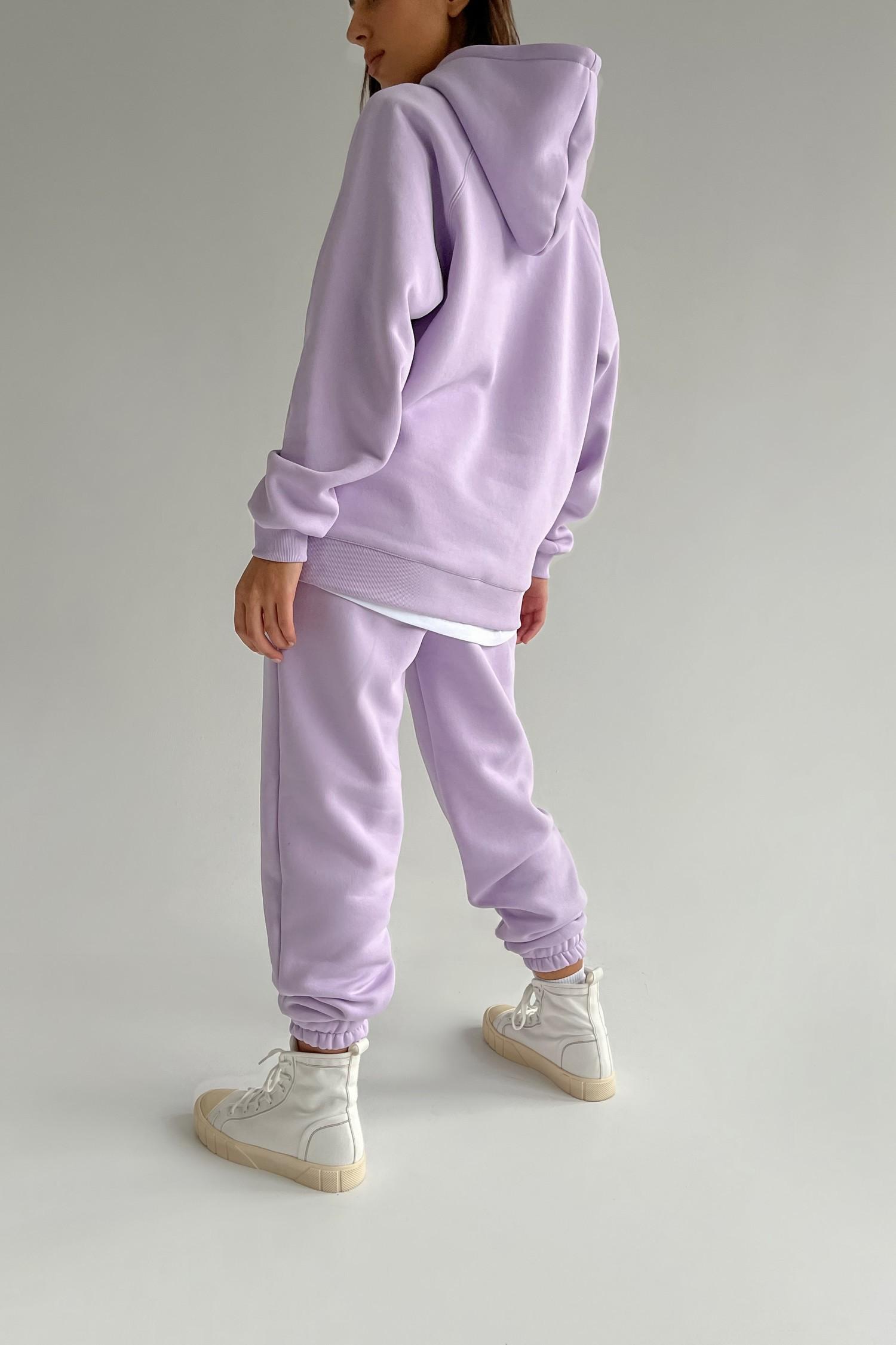 Костюм со спортивными брюками и свитшотом violet - THE LACE
