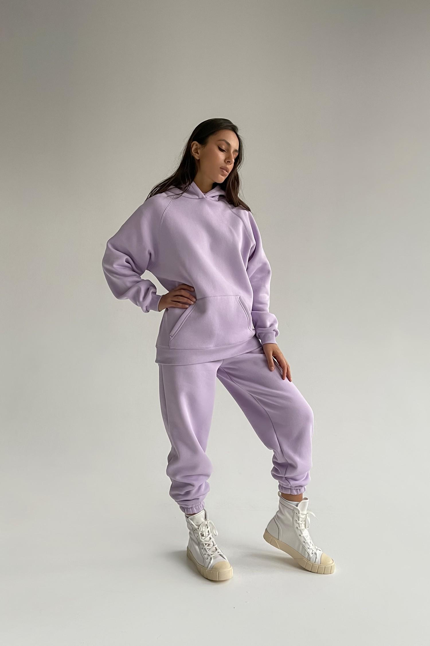 Костюм со спортивными брюками и худи violet - THE LACE