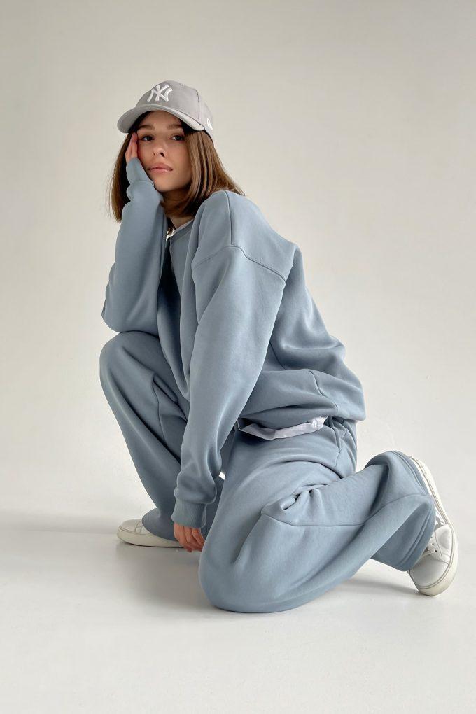 Костюм с брюками прямого кроя и свитшотом arctic - THE LACE