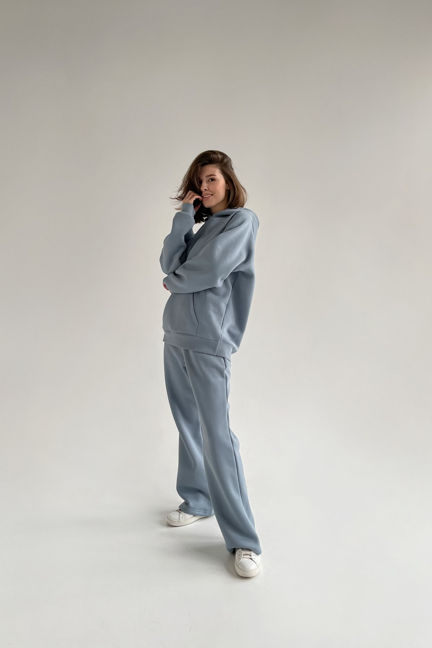 Костюм с брюками прямого кроя и худи arctic - THE LACE