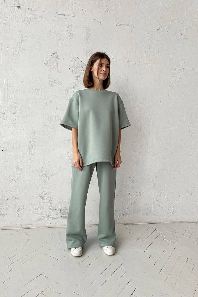 Футболка oversize mint - THE LACE