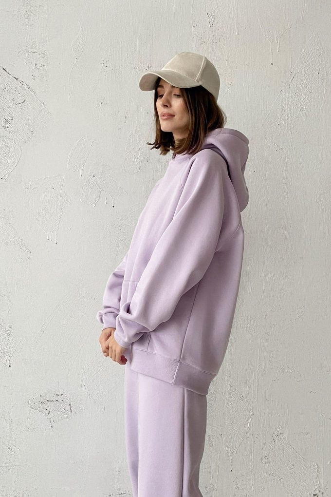 Худи oversize violet - THE LACE