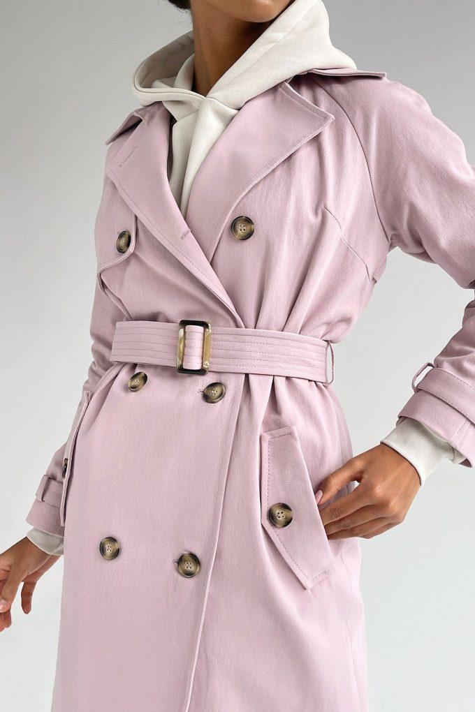 Тренч pink lavander - THE LACE