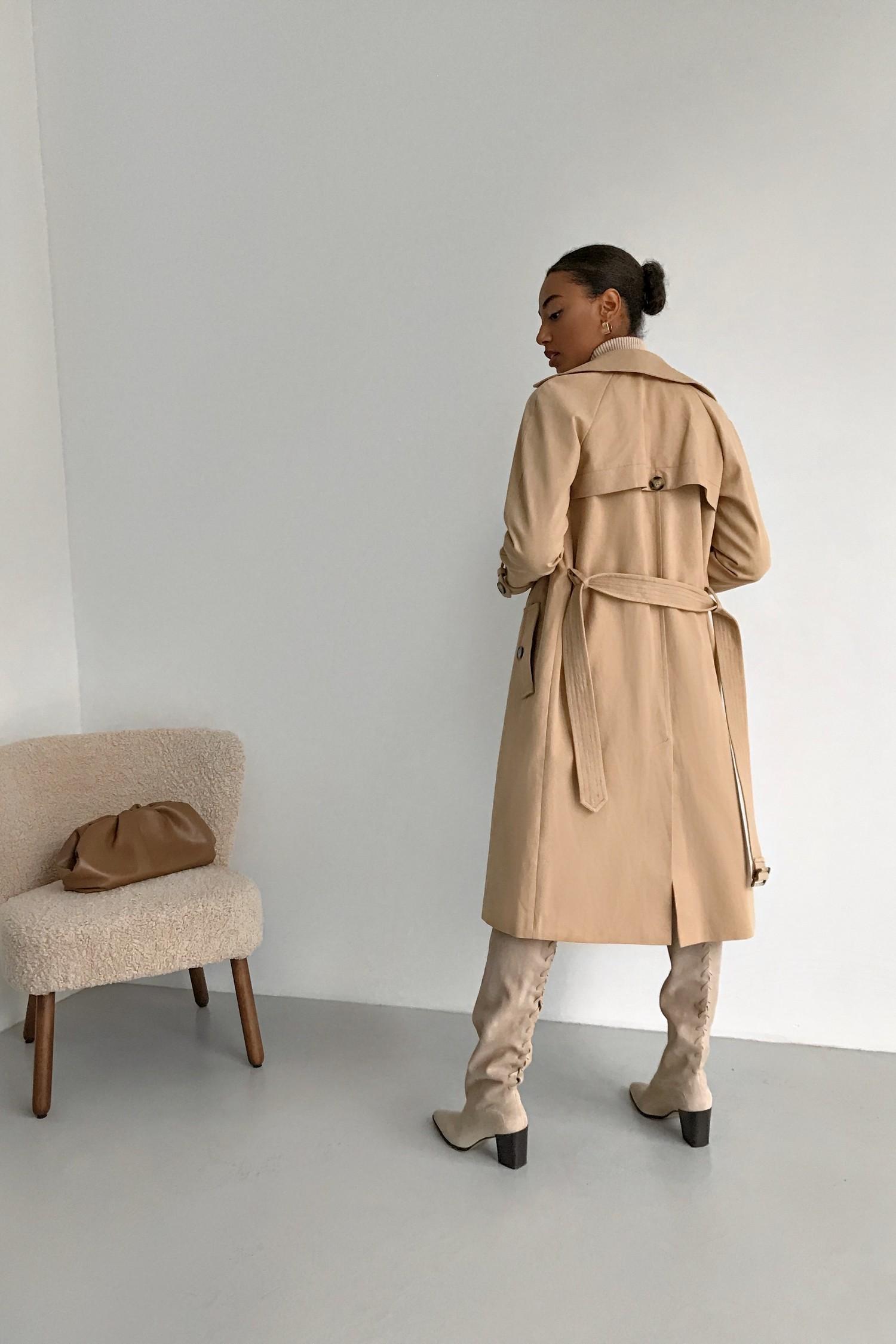 Тренч украинского бренда женской одежды THE LACE
