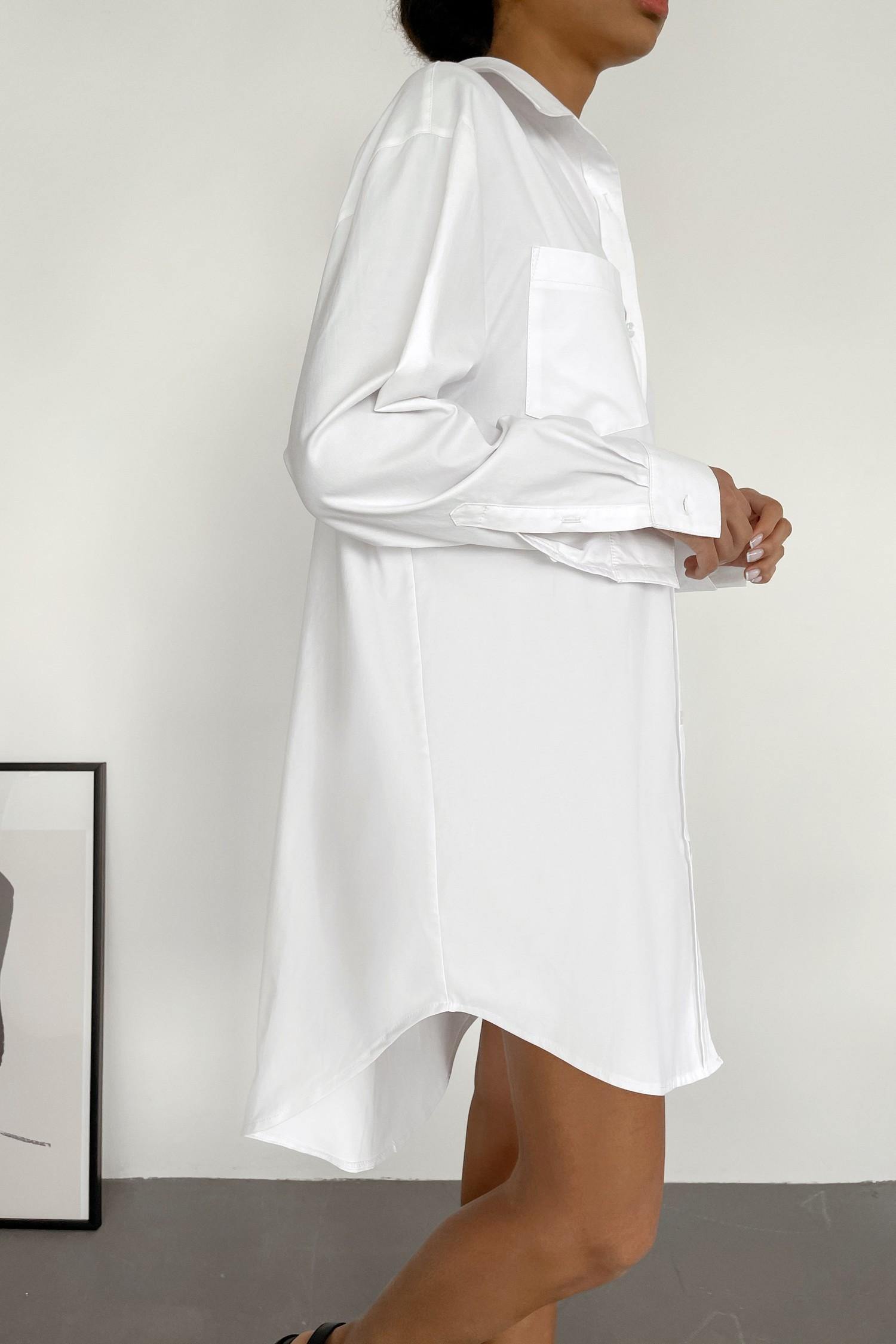 Белое платье-рубашка - THE LACE