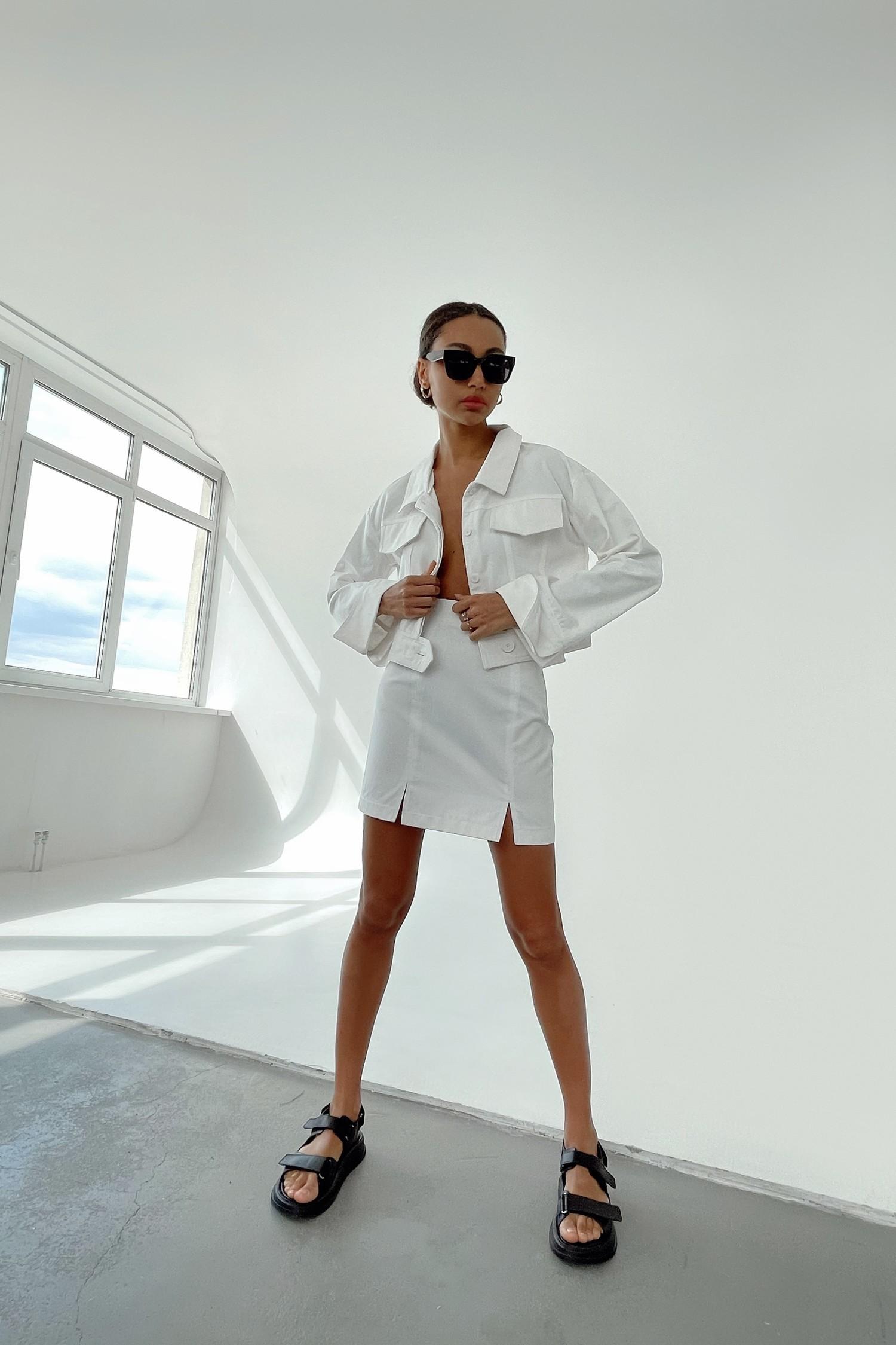 Короткая белая куртка - THE LACE