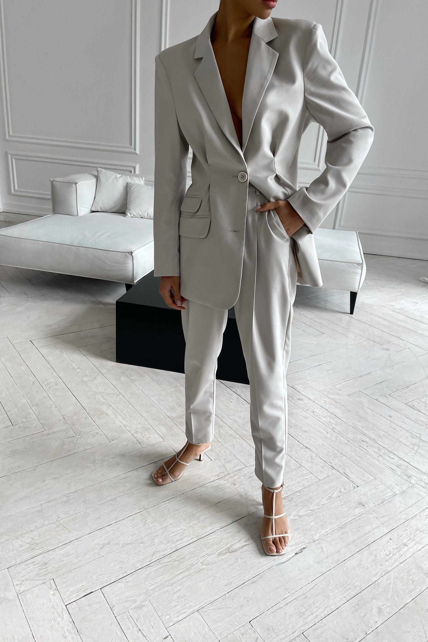 Брючный костюм светло-серый - THE LACE