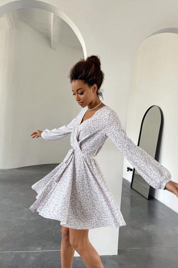 Платье мини с цветочным принтом Bellflowers - THE LACE