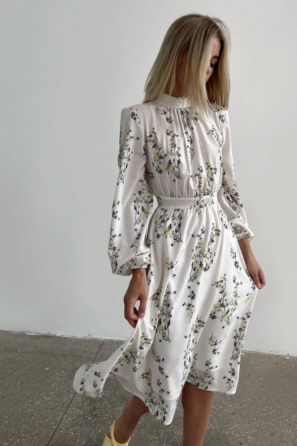 Платье миди Lemon's bloom - THE LACE